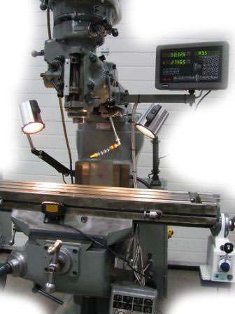 dro system for milling machine